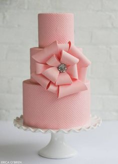 Decadent custom wedding cakes that taste as good as they look. | Erica O'Brien Cake Design | Hamden, CT