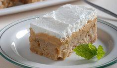 Jednoduché krémové jablkové rezy: Zdobenie je na vás Krispie Treats, Rice Krispies, Food, Hampers, Meal, Essen, Hoods, Rice Krispie Treats, Meals