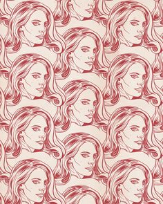 Lana Del Rey pattern (one color version) - jtojto