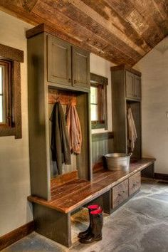 Devil's Lake - rustic - Entry - Minneapolis - Lands End Development - Designers & Builders