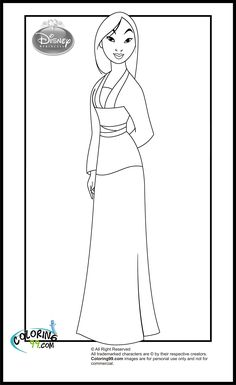 Here are the Beautiful Mulan Coloring Book Coloring Page. This post about Beautiful Mulan Coloring Book Coloring Page was posted under the . Belle Coloring Pages, Free Disney Coloring Pages, Disney Princess Coloring Pages, Disney Princess Colors, Disney Colors, Cartoon Coloring Pages, Coloring Book Pages, Printable Coloring Pages, Coloring Pages For Kids