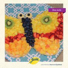 Aposte nos formatos divertidos para incentivar as crianças a comer frutas, elas vão adorar!