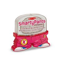 Smarty Pants Kindergarten Brain Building Set. This brain building card set for children includes 120 questions in various formats - picture puzzles, math challenges, tongue-twisters, mazes, vocabulary builders. Sets are designed per grade level, but we highly recommend ordering the year ahead to innovate and keep challenging your children. Fun for the entire family! #BrainBuilding #Kindergarten