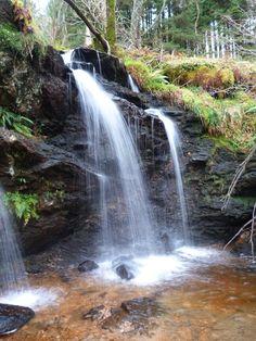 Cormonachan Falls, near Rhumhor Holiday Lodge Waterfalls, Scotland, Scenery, Holiday, Nature, Outdoor, Outdoors, Vacations, Naturaleza