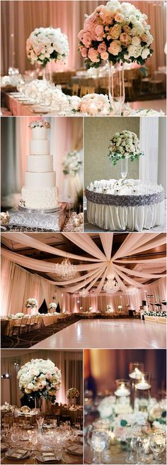 Featured Photographer: Michael and Carina Photography; classy wedding reception idea