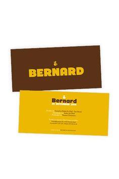 strak geboortekaartje met bijtje | Bernard