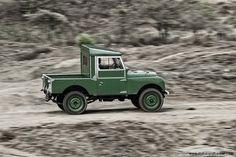 1957 Land Rover Series I SWB Not enough seats...