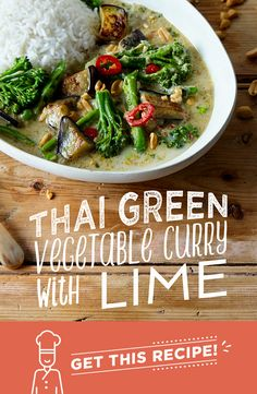 This fragrant Thai vegetable curry is packed with Tenderstem broccoli, sugar snap peas and meaty aubergine. In a spicy, zingy and coconutty sauce and served alongside basmati rice. Topped with fiery chilli, fresh coriander and smashed peanuts.