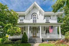 "c. 1840 Gothic Revival known as ""The Cottage"" located at: 60 Granger st Canandaigua NY 14424"
