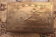 Vintage Jewelry Box by Helena Rubinstein Art Deco by ThePickerGirl, $22.00