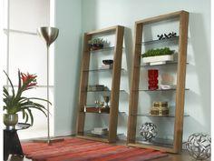 Love the look of our Eileen Walnut Shelf.