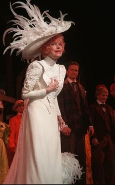 'Hello Dolly' casting announced for Ford's Theatre and Signature Theatre… Theatre Geek, Musical Theatre, Theatre Posters, Theater, Bette Midler Hello Dolly, The Golden Lady, Edwardian Gowns, Carol Channing, Famous Pictures