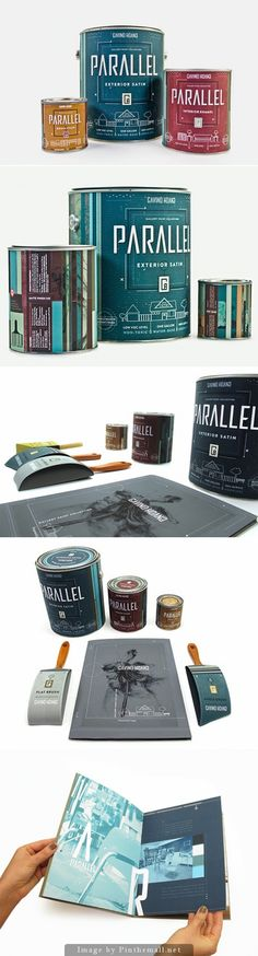 Parallel Gallery Paint Collection (Student Project)