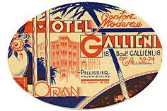 https://flic.kr/p/ymFTt | Sans titre | Hotel Gallieni Oran Algeria North Africa