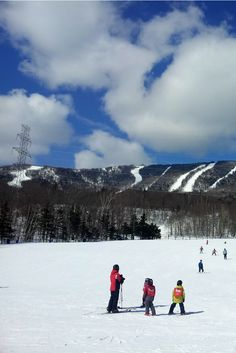 Mont-Sainte-Anne ski resort in Quebec, Canada is great for a getaway both in winter and in summer.