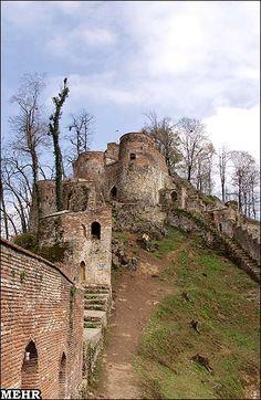 Rudkhan Castle in Guilan , Iran