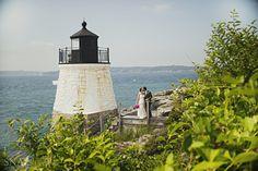 Genna + Seth's Newport Rhode Island Wedding, Castle Hill Inn » Snap Weddings   #VisitRhodeIsland