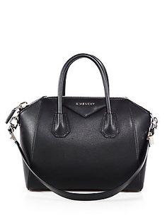 Givenchy Antigona Small Top-Handle Satchel= many pay checks!! The perfect size bag.