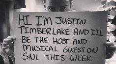 JT...SNL's best guest!