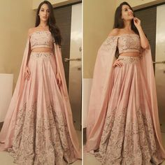 About last night Wearing @svacouture thank you so much for the beautiful outfit On my way to @zeecineawards #norafatehi #aboutlastnight #Bollywood #redcarpet #indianstyle #fashion #cape