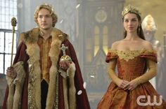 """Reign -- """"Coronation"""" -- Image Number: RE203b_0202.jpg -- Pictured (L-R): Toby Regbo as King Francis II and Adelaide Kane as Mary, Queen of Scotland and France -- Photo: Ben Ben Mark Holzberg/The CW -- © 2014 The CW Network, LLC. All rights reserved."""