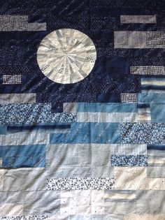Stunning quilts like this Full Moon Quilt Pattern are beautiful in both their unique nature and their precision.