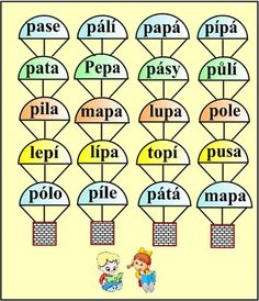 ABECEDA PÍSMENO P Alphabet, Homeschool, Calendar, Teaching, Education, Speech Language Therapy, Alpha Bet, Life Planner, Onderwijs