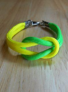 Nautical Sailor's Knot Bracelet -  Para Cord Love Knot - KNOTICAL KNOTION.
