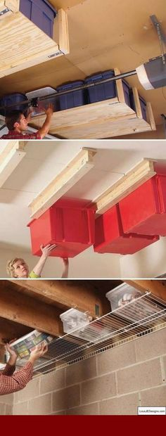 Organizing a garage isnt a one-size-fits-all project, passably weve compiled some of our best garage storage ideas. Check out these tips to find ideas your garage more organized and greater than before to use. Garage Organization Systems, Garage Storage Solutions, Diy Garage Storage, Diy Garage Shelves, Garage Cabinets, Storage Ideas, Organizing A Garage, Storage Systems, Organization Ideas