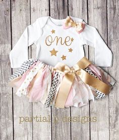 Twinkle Twinkle Little Star One Year Old is What You Are First Birthday Bodysuit | Sparkle | Baby girl birthday theme