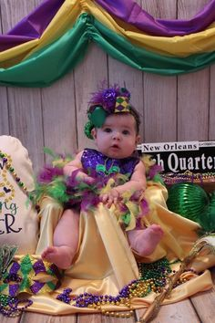 Baby Pictures, Baby Photos, Holiday Photography, Photography Ideas, Mardi Gras Photos, Mardi Gras Outfits, Photo Props, Photo Shoot, Blue Birthday