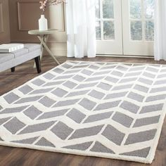 Safavieh Cambridge Dark Gray/Ivory 9 ft. x 12 ft. Area Rug-CAM718D-9 - The Home Depot