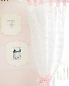 White Ruffle Curtains - Petit (Australia) Pty Ltd