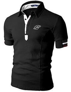 Doublju Mens Polo T-shirts with Short Sleeve BLACK (US-S) Doublju http://www.amazon.com/dp/B0089SX692/ref=cm_sw_r_pi_dp_mYoxvb0MPDSNS