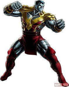 Colossus (X-Men), Marvel: Avengers Alliance Marvel Comic Character, Comic Book Characters, Comic Book Heroes, Marvel Characters, Character Art, Character Design, Comic Books, Marvel Avengers Alliance, Marvel Comics Art