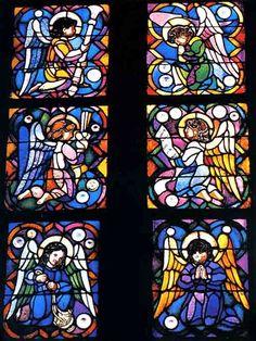 Sagrada Familia / Stained Glass, Gaudy