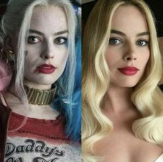 "Margot Robbie ✾ as Harley Quinn ☠ in ""Suicide Squad"" Arlequina Margot Robbie, Actress Margot Robbie, Margo Robbie, Margot Robbie Harley Quinn, Harley Quinn Comic, Harley Quinn Cosplay, Joker And Harley Quinn, Gal Gadot, Hearly Quinn"
