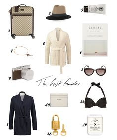 THE CHRISTMAS GIFT GUIDES | Everything for the Chic Jet Setter and Traveler is up on www.thedashingrider.com #giftguide #christmas