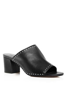 17d7e06c391ec Rebecca Minkoff Women s Lainy Studded Leather Slide Sandals Rebecca Minkoff  - Bloomingdale s