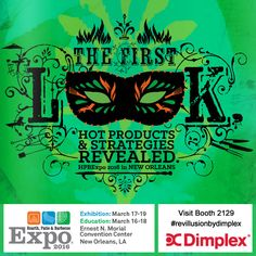 The Hearth, Patio & Barbecue Expo is North America's largest (trade) indoor-outdoor living showcase. HPBExpo is being held at the Ernest N. Morial Convention Center in New Orleans, Louisiana, March 16-19th, 2016. Visit Dimplex at Booth 2129 to see the amazing line-up of products we've brought to the show. Attendees will be talking about what's behind our red curtain - for years to come! It's a #revillusionbydimplex ! www.dimplex.com Red Curtains, Indoor Outdoor Living, Convention Centre, Hearth, Louisiana, Barbecue, New Orleans, North America, Bring It On