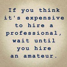 #professional vs. amateur