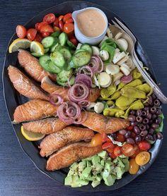 Detox Recipes, Seafood Recipes, Healthy Recipes, Fish Recipes, Healthy Meals, Clean Eating Recipes, Healthy Eating, Eating Clean, Seafood Salad
