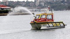 Sydney Harbour 'fast attack' fire boat