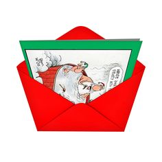 Amazon.com: B1539 Box Set of 12 Invite Frosty Unique Humor Christmas Greeting Cards with Envelopes: Office Products