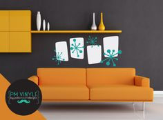 This retro grouping is sure to wow your friends and compliment your spiffy 50s decor.