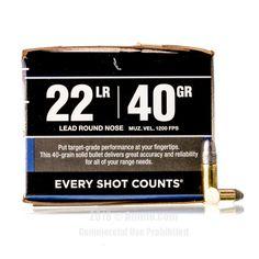 22 LR - 40 gr LRN - Federal - Bulk Pack - 2750 Rounds #22LR #22LRAmmo #Federal #FederalAmmo #Federal22LR #LRN