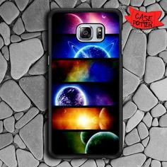 Planet And Space Samsung Galaxy S6 Edge Black Case