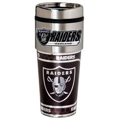 Oakland Raiders Travel Coffee Tumbler