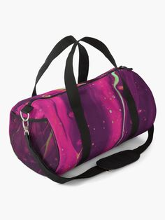 """""""Abstract Trippy Psychedelic Paint Pattern"""" Duffle Bag by ind3finite   Redbubble"""