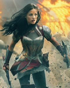 THOR: THE DARK WORLD - Character Posters for Lady Sif and Jane Foster